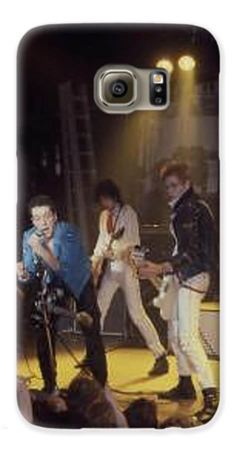 The Clash-london 1978 Photo By Dawn Wirth-copyrighted Galaxy S6 Case featuring the photograph The Clash-london - July 1978 by Dawn Wirth