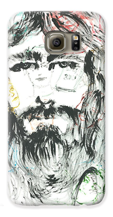 Jesus Galaxy S6 Case featuring the painting The Emotions Of Jesus by Nadine Rippelmeyer