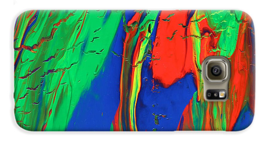 Fusionart Galaxy S6 Case featuring the painting The Escape by Ralph White
