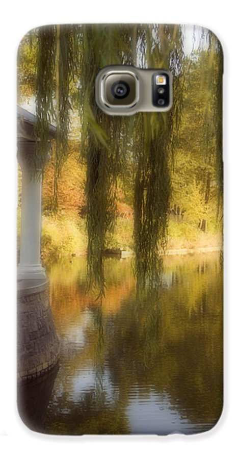 Water Galaxy S6 Case featuring the photograph The Gazebo by Ayesha Lakes