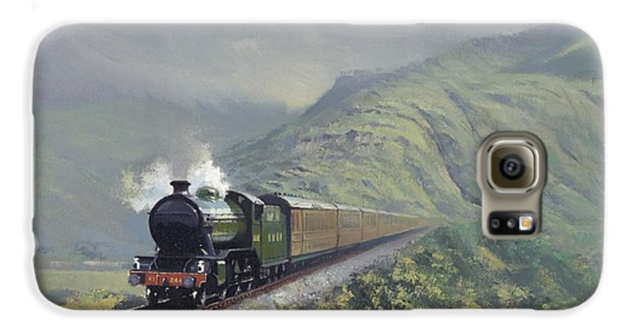 Steam Galaxy S6 Case featuring the painting the Great Marquess by Richard Picton