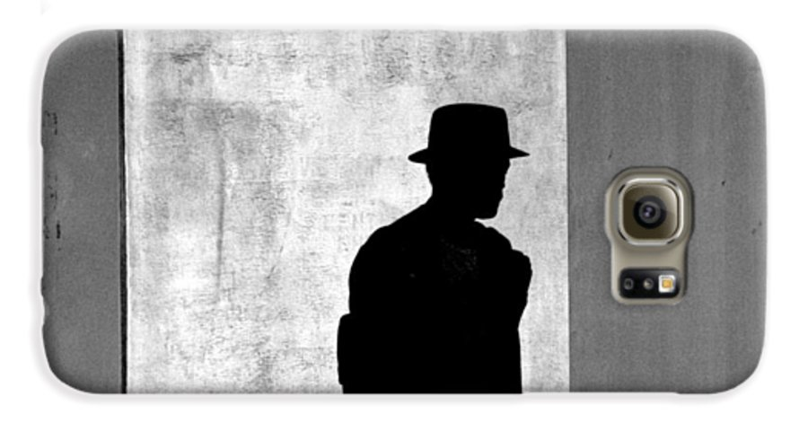 Abstract Galaxy S6 Case featuring the photograph The Last Time I Saw Joe by Steven Huszar