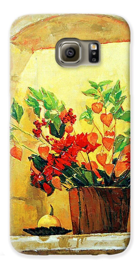 Still Life Galaxy S6 Case featuring the painting The Light by Iliyan Bozhanov