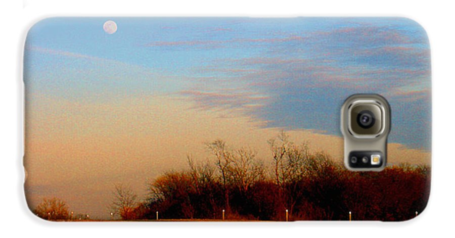 Landscape Galaxy S6 Case featuring the photograph The On Ramp by Steve Karol