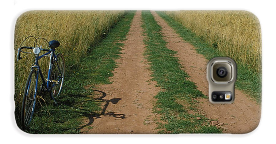 Dirt Galaxy S6 Case featuring the photograph The Road To Home by Carl Purcell