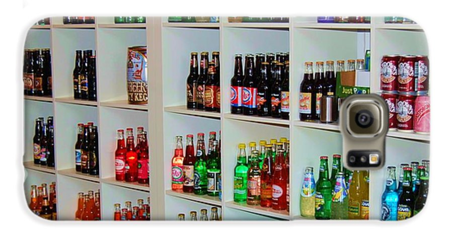 Soda Galaxy S6 Case featuring the photograph The Soda Gallery by Debbi Granruth
