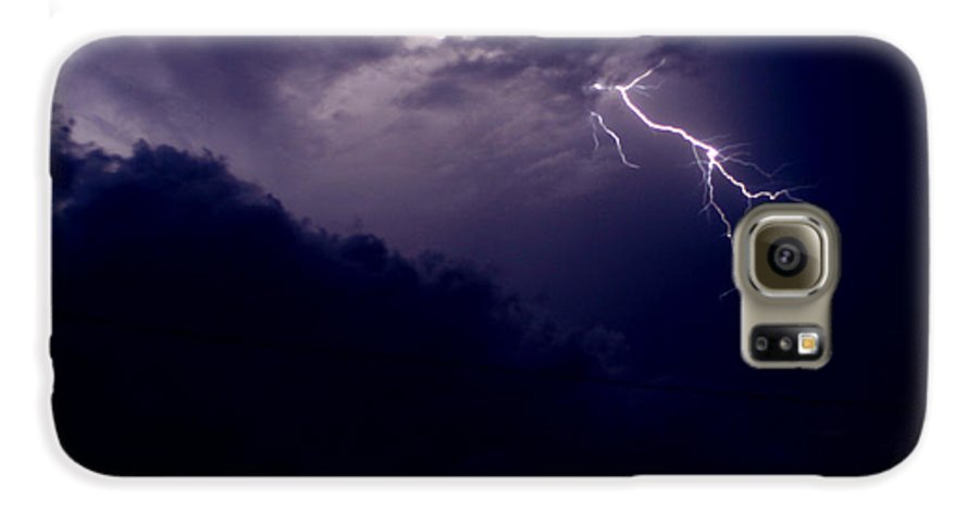 Sky Galaxy S6 Case featuring the photograph The Storm 1.3 by Joseph A Langley
