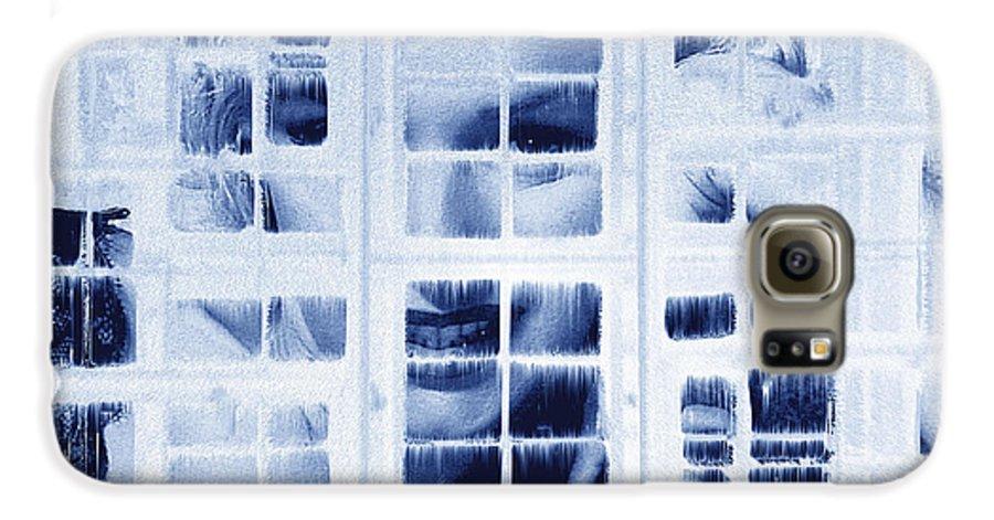 Marilyn Monroe Galaxy S6 Case featuring the digital art The Voyeur by Seth Weaver