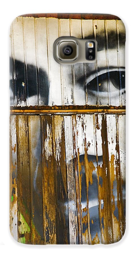 Escondido Galaxy S6 Case featuring the photograph The Walls Have Eyes by Skip Hunt