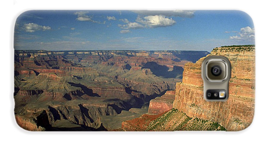 Grand Canyon Galaxy S6 Case featuring the photograph This Is My Father's World by Kathy McClure