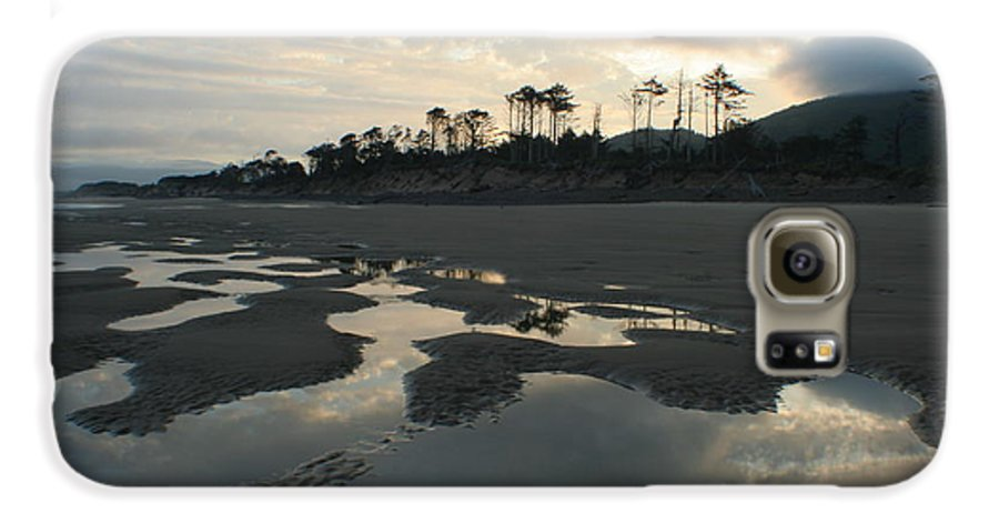 Oregon Galaxy S6 Case featuring the photograph Tidepools At Dawn by Idaho Scenic Images Linda Lantzy