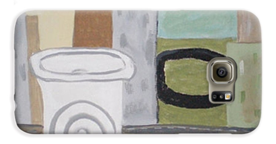 To Go Galaxy S6 Case featuring the painting To Go by Beth Cornell