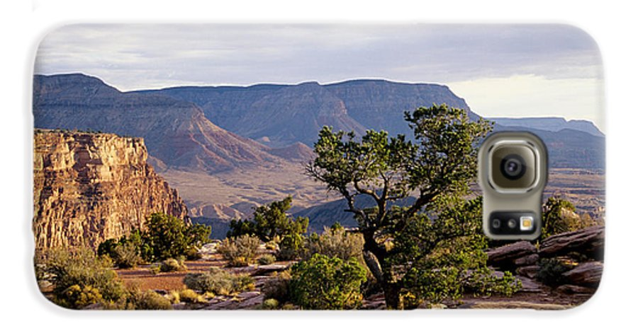 Arizona Galaxy S6 Case featuring the photograph Toroweap by Kathy McClure