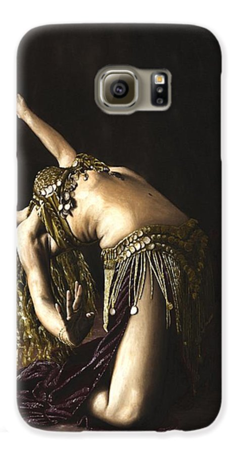 Turkish Galaxy S6 Case featuring the painting Turkish Delight by Richard Young