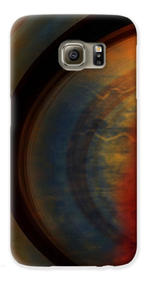 Tuscan Galaxy S6 Case featuring the painting Tuscan by Jill English