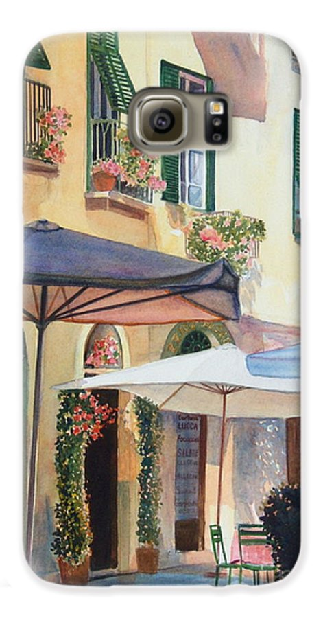 Tuscan Galaxy S6 Case featuring the painting Tuscan Sunlight by Ann Cockerill
