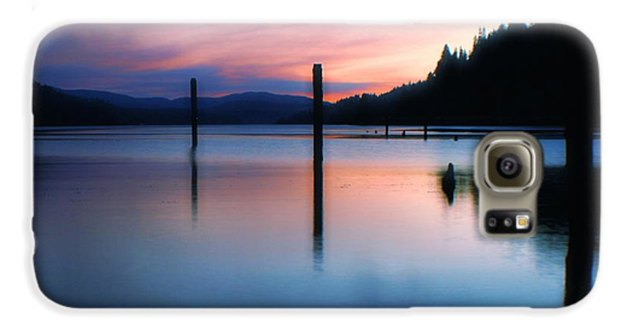 Dusk Galaxy S6 Case featuring the photograph Twilight by Idaho Scenic Images Linda Lantzy