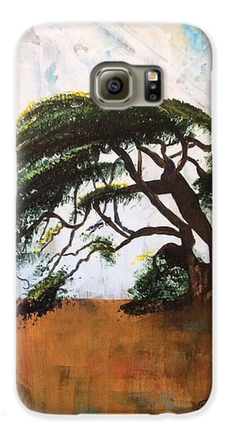 Tree Galaxy S6 Case featuring the painting Unbreakable by Patti Ferron