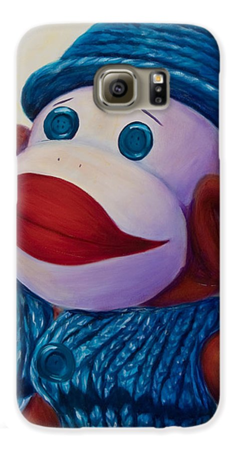 Children Galaxy S6 Case featuring the painting Uncle Frank by Shannon Grissom