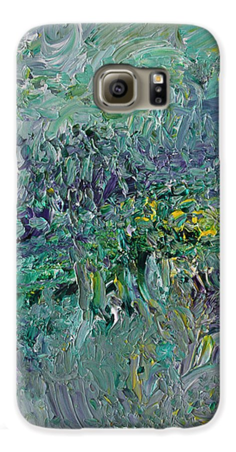Fusionart Galaxy S6 Case featuring the painting Blind Giverny by Ralph White