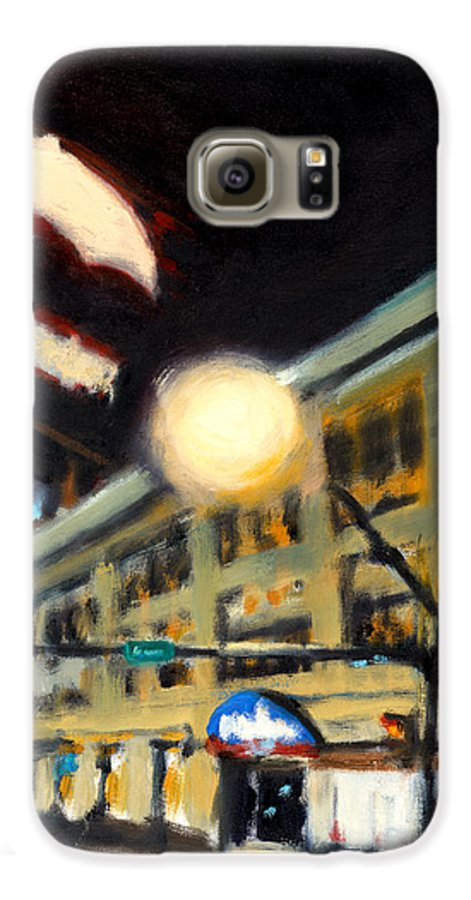 Rob Reeves Galaxy S6 Case featuring the painting Untitled by Robert Reeves