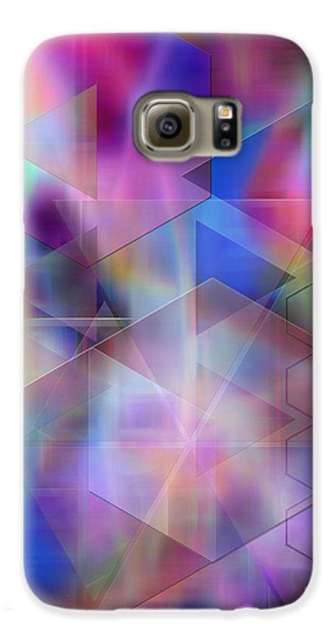 Usonian Dreams Galaxy S6 Case featuring the digital art Usonian Dreams by John Beck