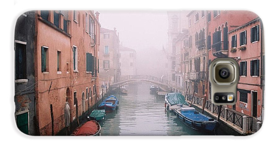 Venice Galaxy S6 Case featuring the photograph Venice Canal I by Kathy Schumann