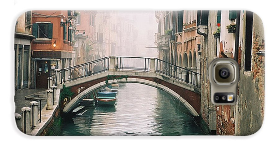 Venice Galaxy S6 Case featuring the photograph Venice Canal II by Kathy Schumann