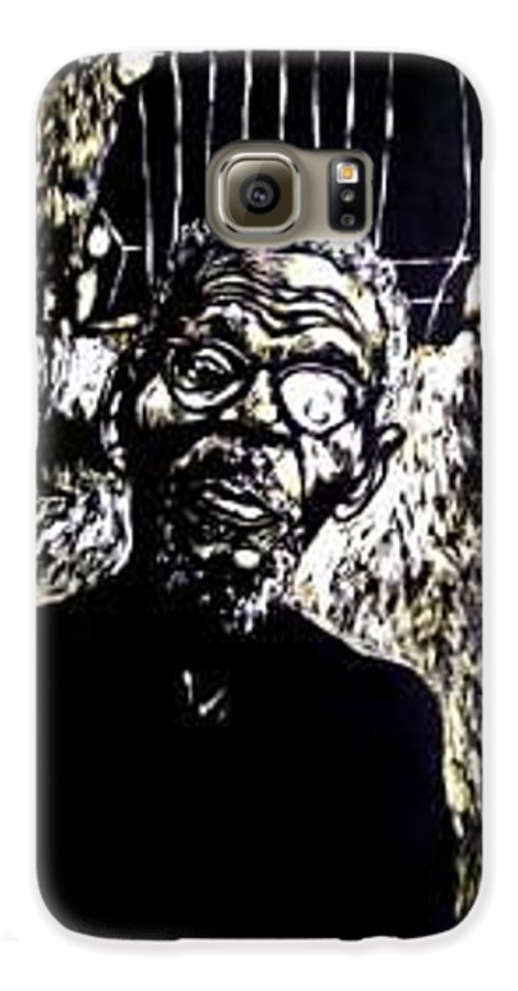 Galaxy S6 Case featuring the mixed media Walimu Wally by Chester Elmore