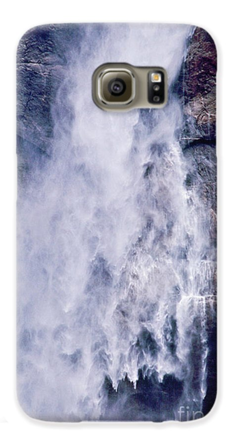 Waterfall Galaxy S6 Case featuring the photograph Water Drops by Kathy McClure