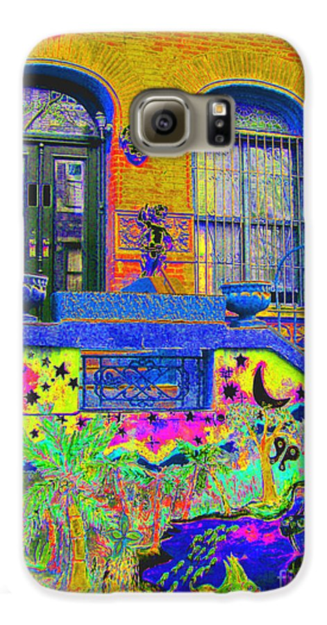 Harlem Galaxy S6 Case featuring the photograph Wax Museum Harlem Ny by Steven Huszar