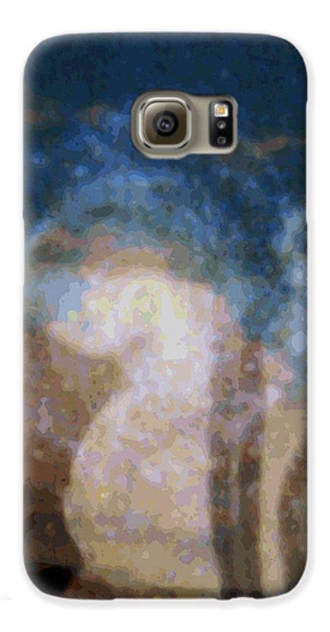 Rainbow Colors Digital Galaxy S6 Case featuring the photograph Wehewehe Moeuhane by Kenneth Grzesik