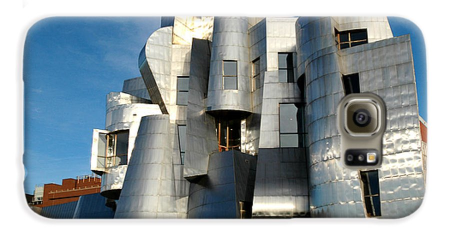 Museum Galaxy S6 Case featuring the photograph Weisman Art Museum by Kathy Schumann
