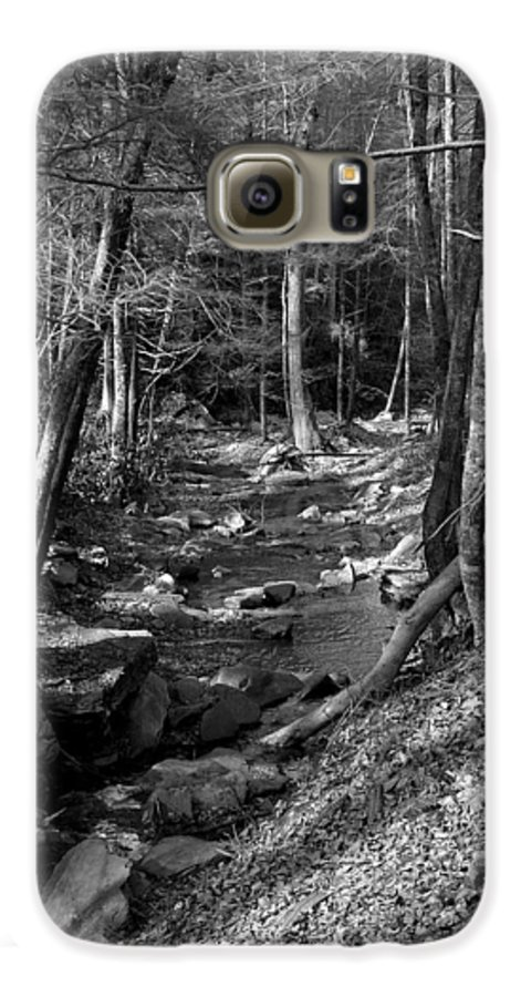 Nature Galaxy S6 Case featuring the photograph Wesser Creek Trail by Kathy Schumann