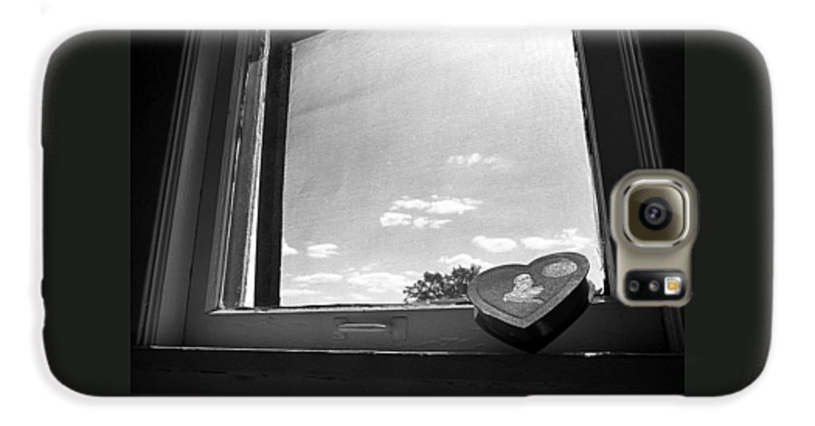 Window Galaxy S6 Case featuring the photograph What Remains by Ted M Tubbs
