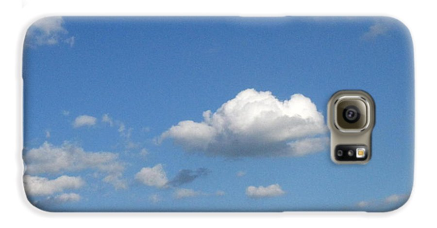 Clouds Galaxy S6 Case featuring the photograph Wide Open by Rhonda Barrett