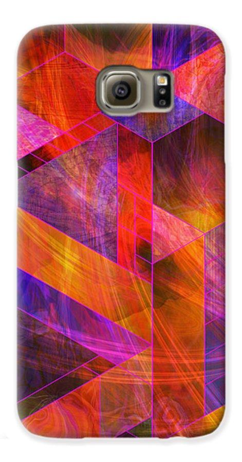 Wild Fire Galaxy S6 Case featuring the digital art Wild Fire by John Beck