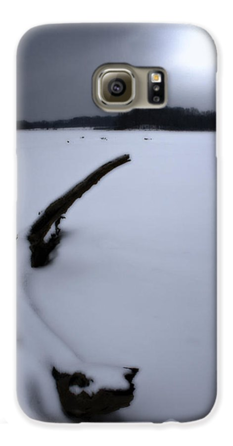Winter Galaxy S6 Case featuring the photograph Winter Moonrise by Kenneth Krolikowski