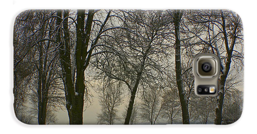 Park Galaxy S6 Case featuring the photograph Winter Wonderland by Idaho Scenic Images Linda Lantzy