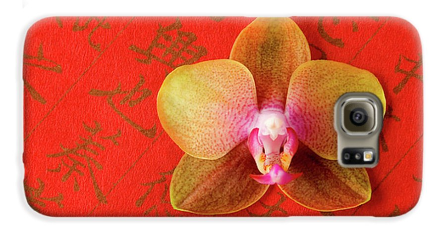 Orchid Galaxy S6 Case featuring the photograph Wishes Come True by Julia Hiebaum