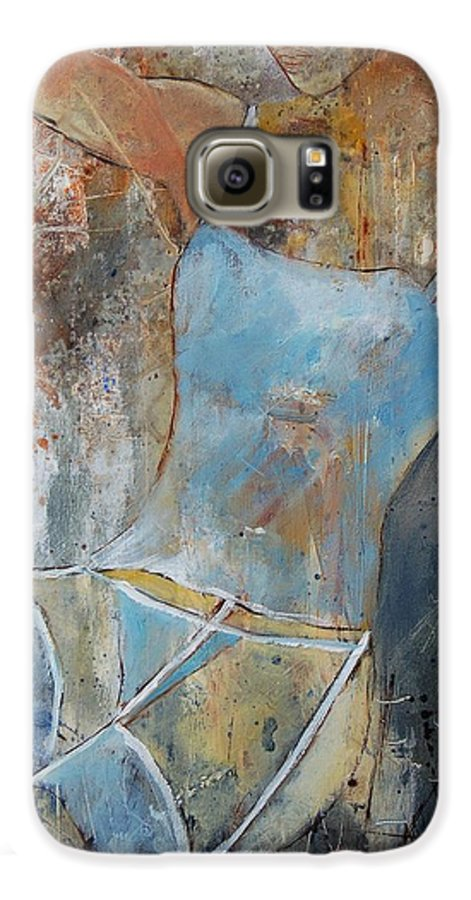 Nude Galaxy S6 Case featuring the painting Young Girl 451108 by Pol Ledent