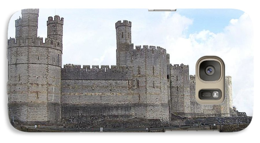 Castles Galaxy S7 Case featuring the photograph Caernarfon Castle by Christopher Rowlands