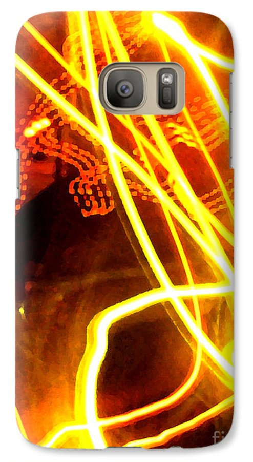 Abstract Galaxy S7 Case featuring the photograph Abstract by Amanda Barcon
