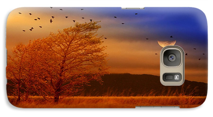 Landscape Galaxy S7 Case featuring the photograph Against The Wind by Holly Kempe
