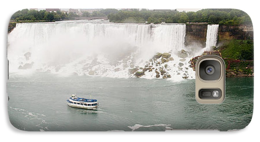 3scape Photos Galaxy S7 Case featuring the photograph American Falls by Adam Romanowicz