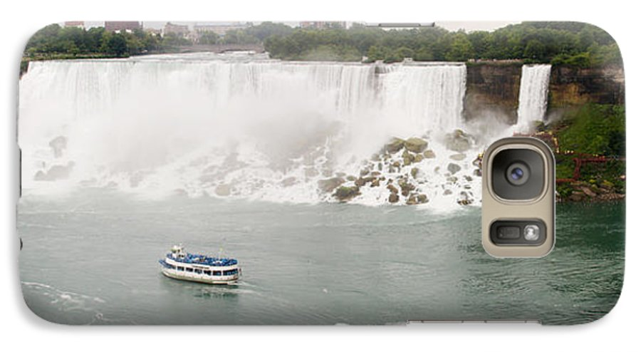 3scape Galaxy S7 Case featuring the photograph American Falls by Adam Romanowicz