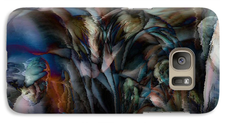 Another World Art Galaxy S7 Case featuring the digital art Another World by Linda Sannuti