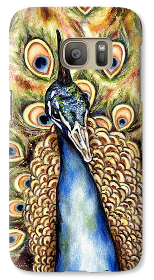 Bird Galaxy S7 Case featuring the painting Applause by Hiroko Sakai