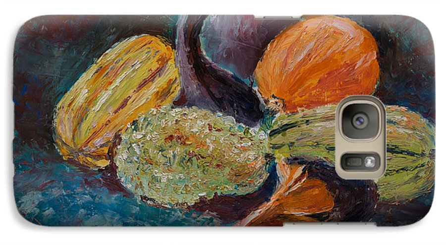 Oil Galaxy S7 Case featuring the painting Wild Bunch by Horacio Prada
