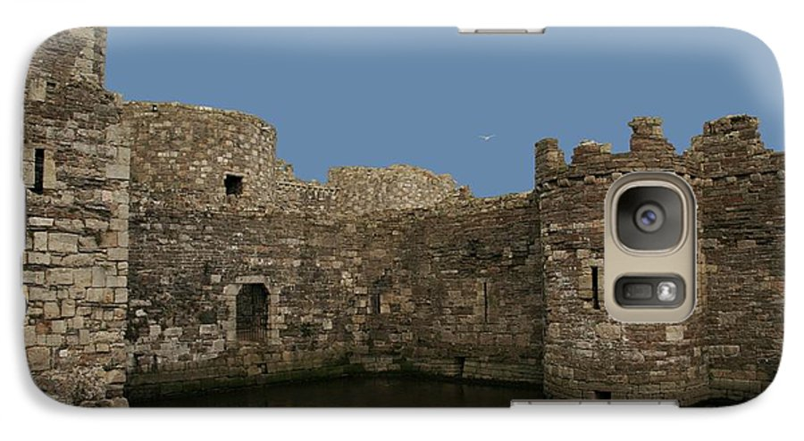 Castles Galaxy S7 Case featuring the photograph Beamaris Castle by Christopher Rowlands